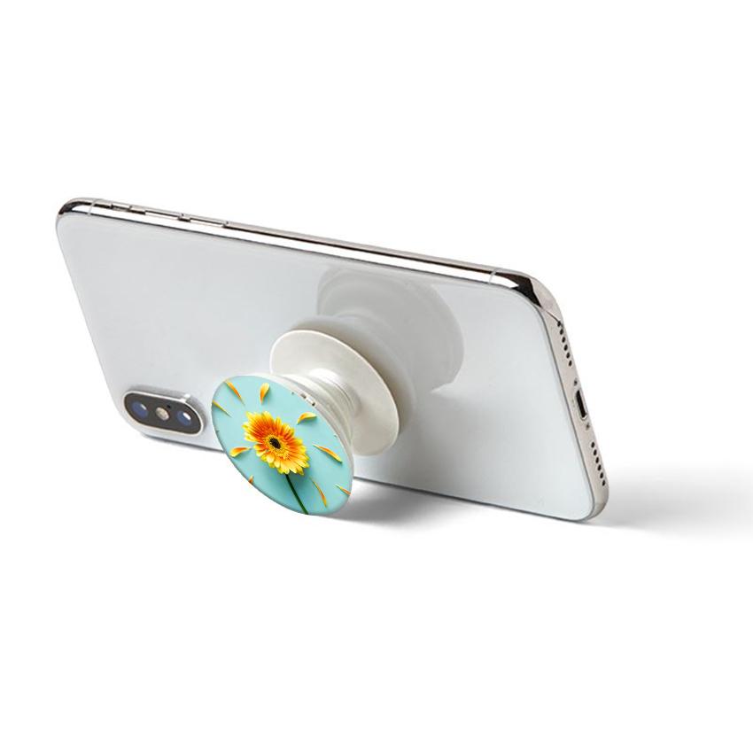 Gía đỡ điện thoại đa năng, tiện lợi - Popsockets - In hình SUNFLOWER 02 - Hàng Chính Hãng