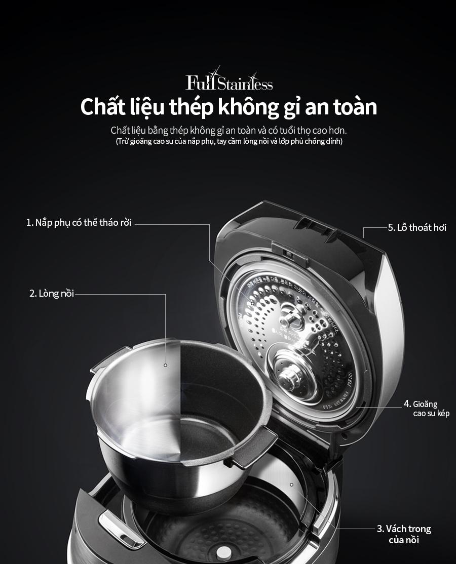 Nồi cơm điện Cuckoo CRP-JHT1009F - HÀNG CHÍNH HÃNG