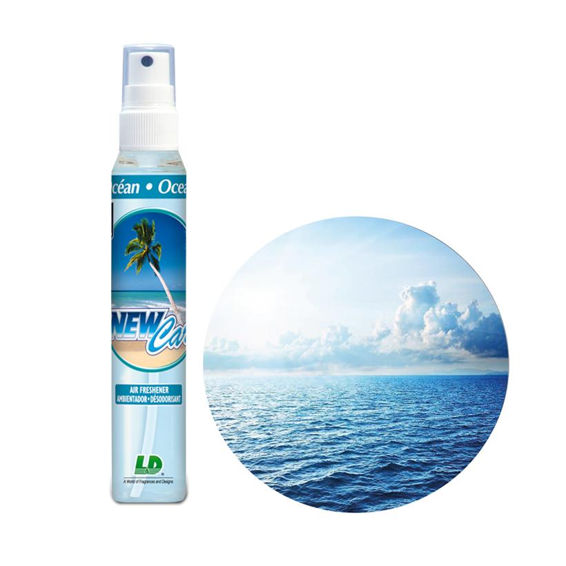 Nước hoa ô tô dạng xịt L&D NEW CAR Ocean Breeze 60ml