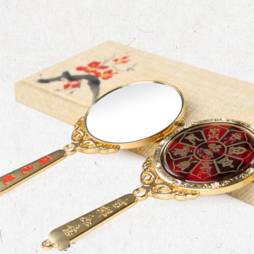 Gương khai quang vật phẩm phong thủy có hướng dẫn khai quang tham khảo