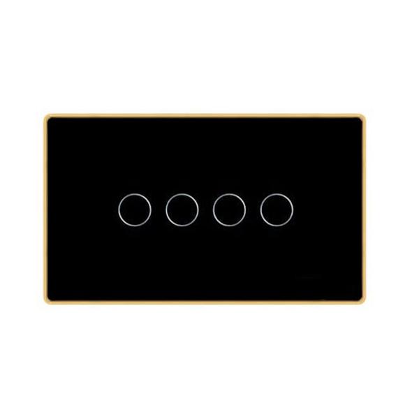 Công tắc cảm ứng chữ nhật 4 nút