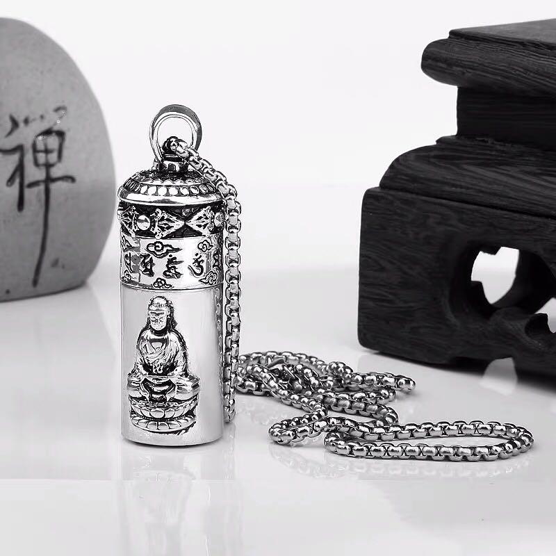 Combo Hộp Quẹt Bật Lửa Xăng Đá Hình Tượng Phật CF215, Sang Trọng Lịch Lãm + Tặng Bình Xăng Chuyên Dụng Cho Bật Lửa (Giao Màu Ngẫu Nhiên)