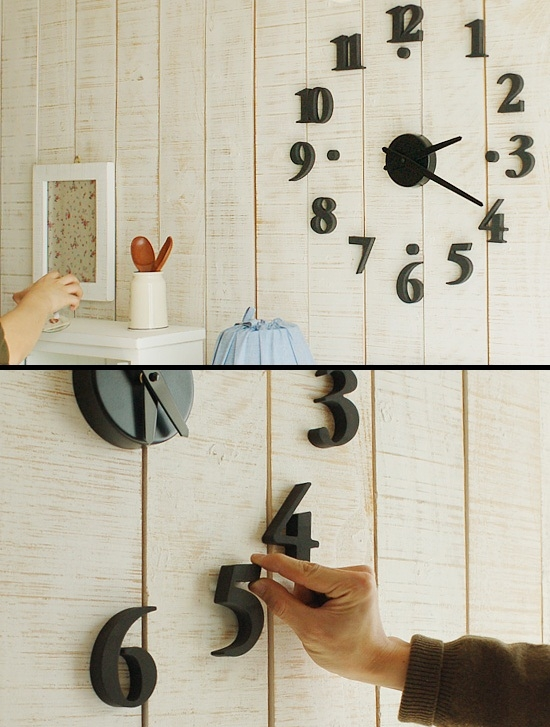 Đồng hồ dán tường cao cấp DIY 3D (DONGHO-DIYGS65)