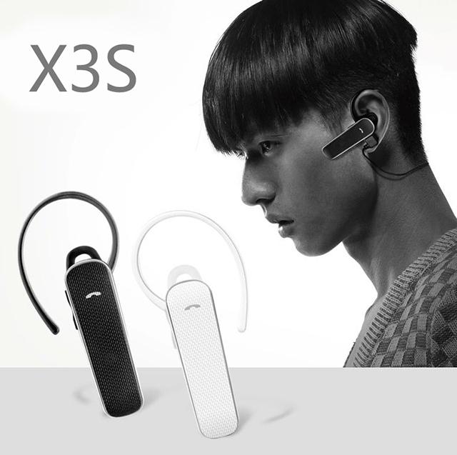 Tai nghe Bluetooth Roman X3S (Giao màu ngẫu nhiên) - Hàng Chính Hãng