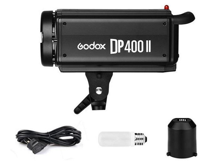 Đèn Flash studio Godox DP400II hàng chính hãng.