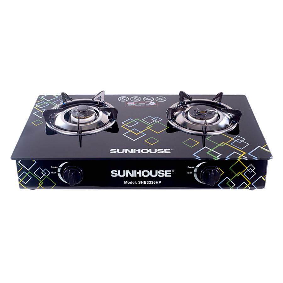 Bếp Gas Dương Kính Sunhouse SHB3336HP - Hàng chính hãng