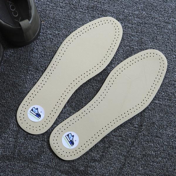 Cặp lót giày bằng da LOT2 CHONGIAY êm chân và khử mùi
