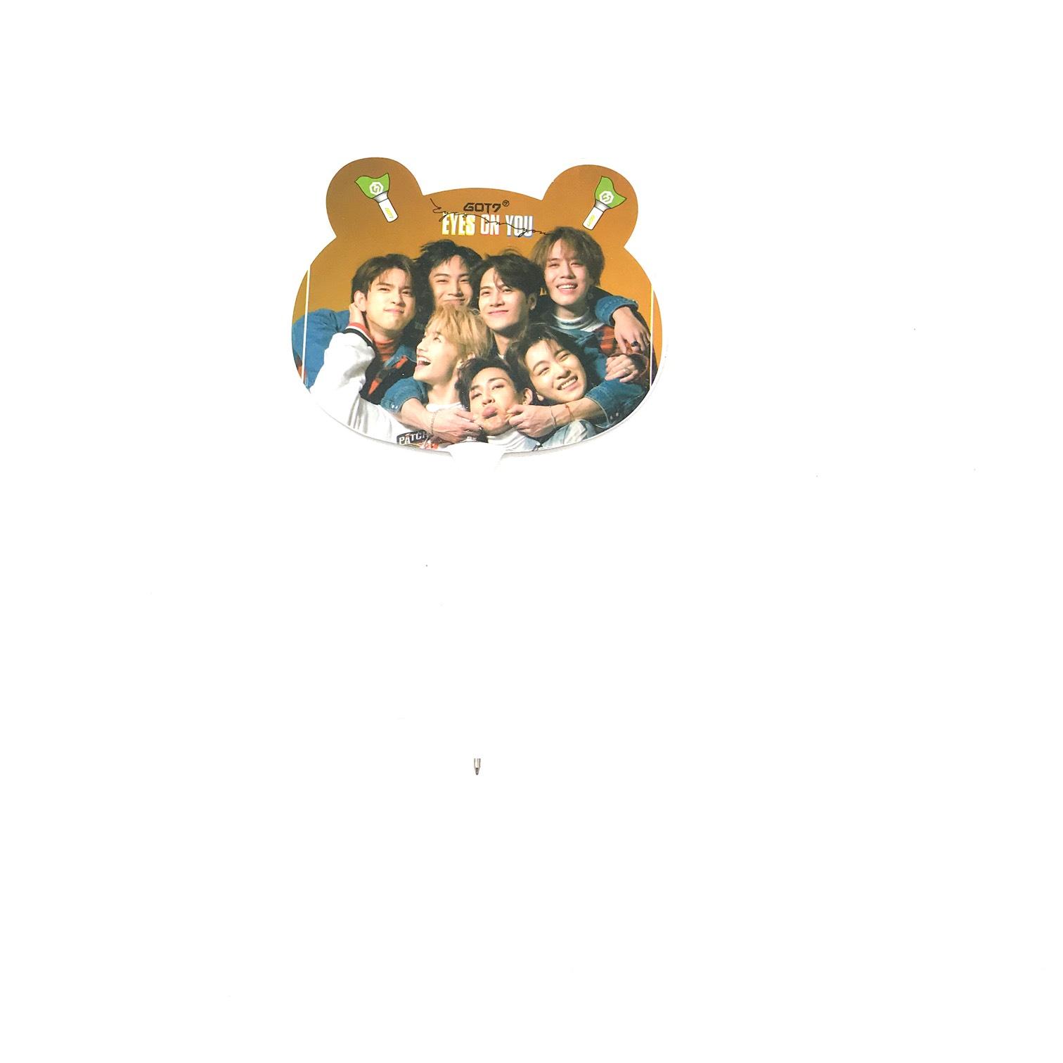 Bút Bi Hình Quạt Got7