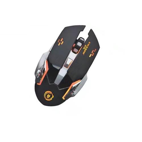 Chuột không dây wireless pin sạc EWEADN M500 chuyên game - led đa màu (Đen) Hàng Nhập Khẩu