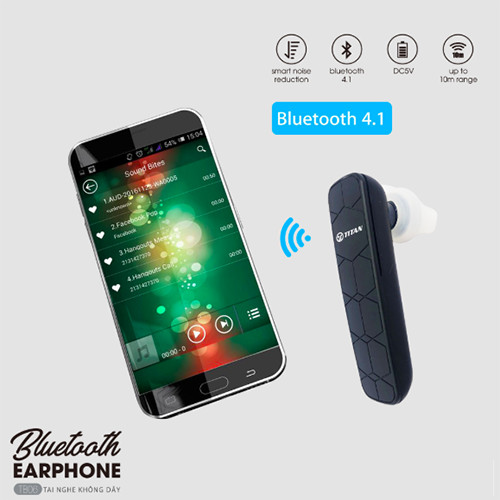 Tai Nghe Buletooth EarPhone TB06 - TITAN - Hàng Chính Hãng