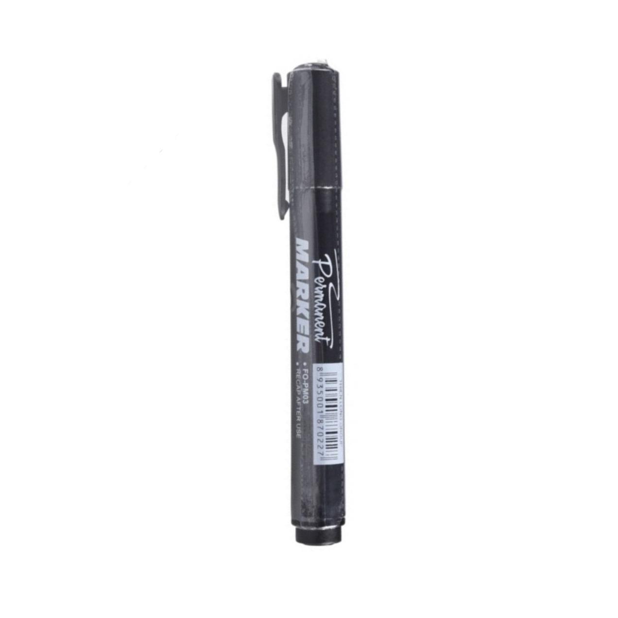 Combo 10 Bút lông dầu Thiên Long Flexoffice FO-PM03 (10 Cây/1 Hộp - 2 màu xanh - đen)