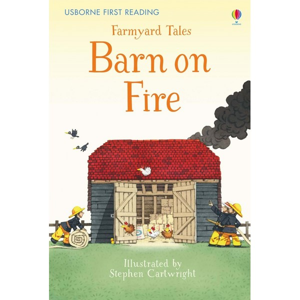 Usborne Barn on Fire