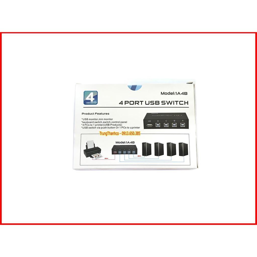 Bộ Chia Máy in 1 ra 4 Cổng USB 2.0