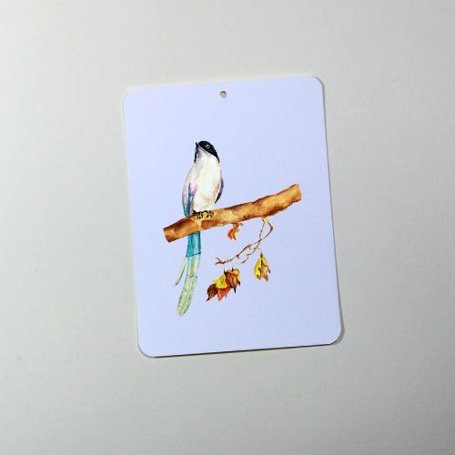 Giấy vẽ màu nước Postcard 40 tờ  khổ (9 x 12) cm - Màu xanh dương