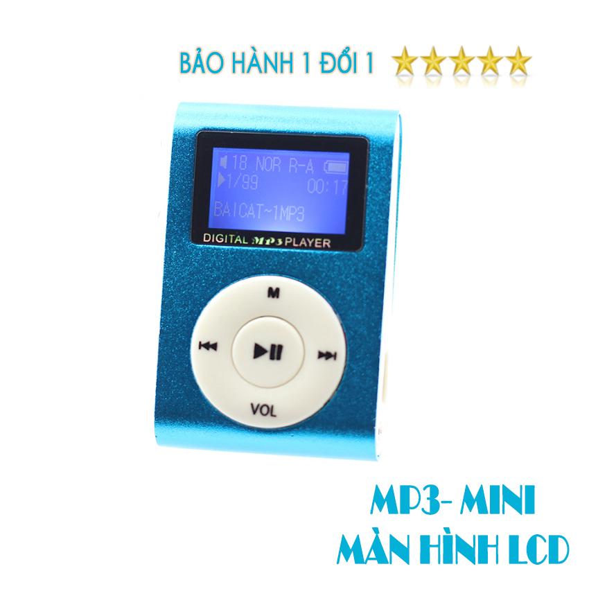 Máy Nghe Nhạc Mp3 MINI có màn hình kẹp gắn quần áo