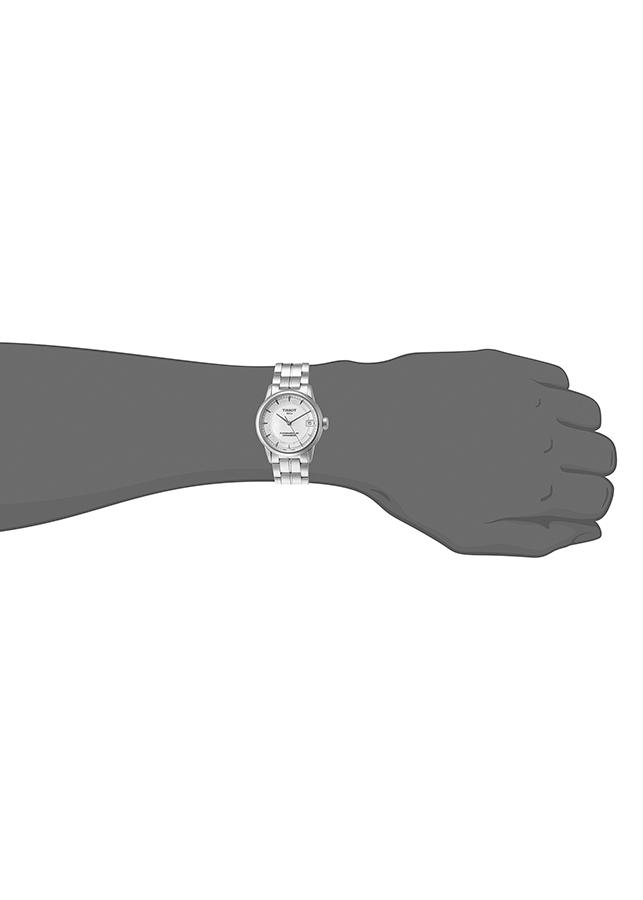 Đồng Hồ Nữ Dây Thép Không Gỉ Tissot T086.208.11.116.00 (33mm) - Xám