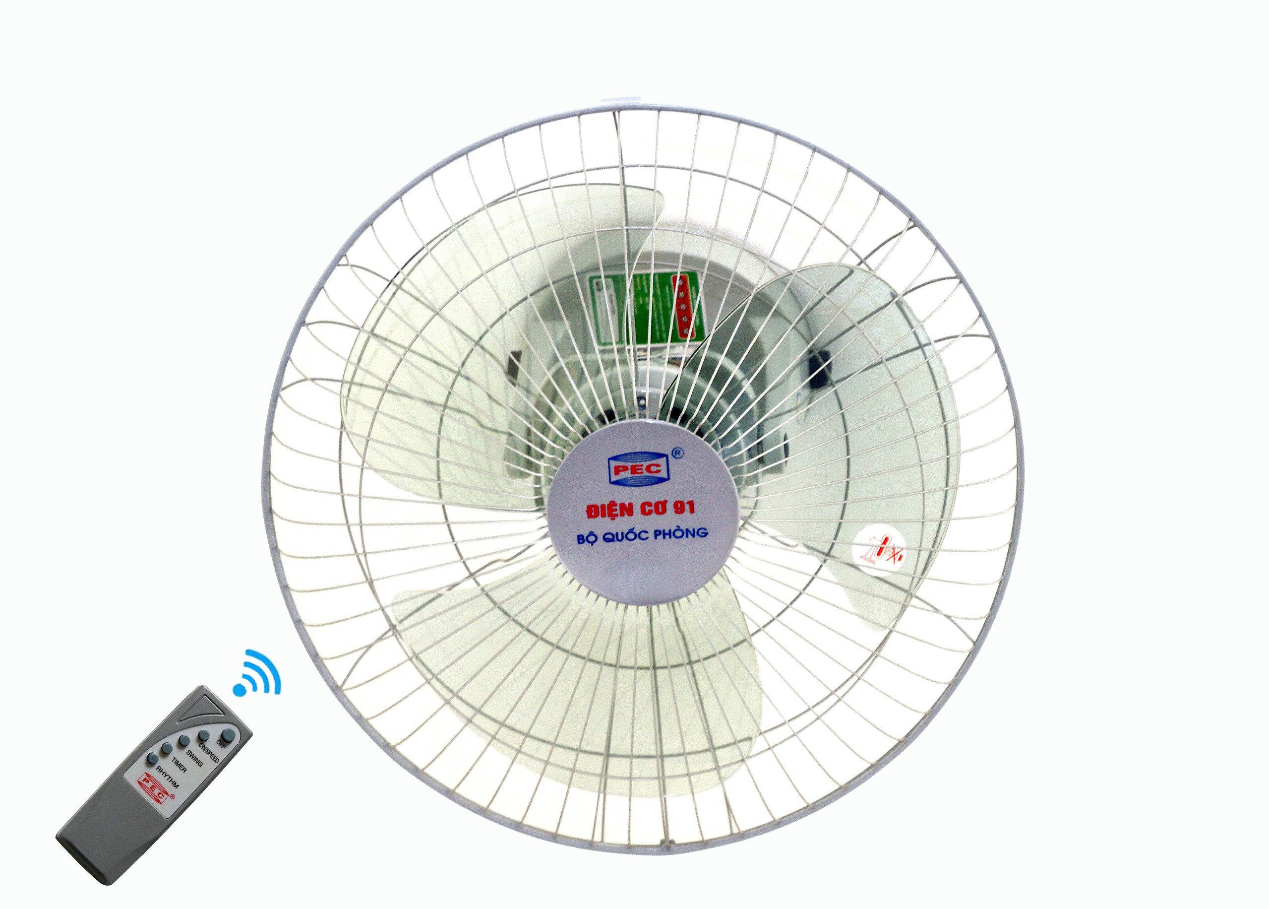 Quạt đảo trần điều khiển từ xa Điện cơ 91 QĐT-400ĐK - Hàng Chính Hãng