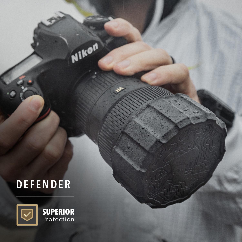 Nắp Chụp Bảo Vệ Lens Máy Ảnh DEFENDER 77/82 mm PolarPro- Hàng Chính Hãng