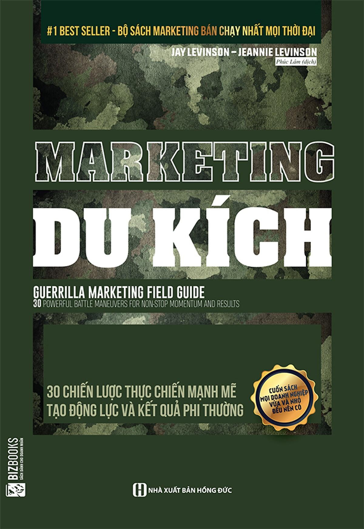 Combo Muốn bán hàng giỏi phải bán mình trước + Marketing du kích (Tặng kèm bút chì Kingbooks)