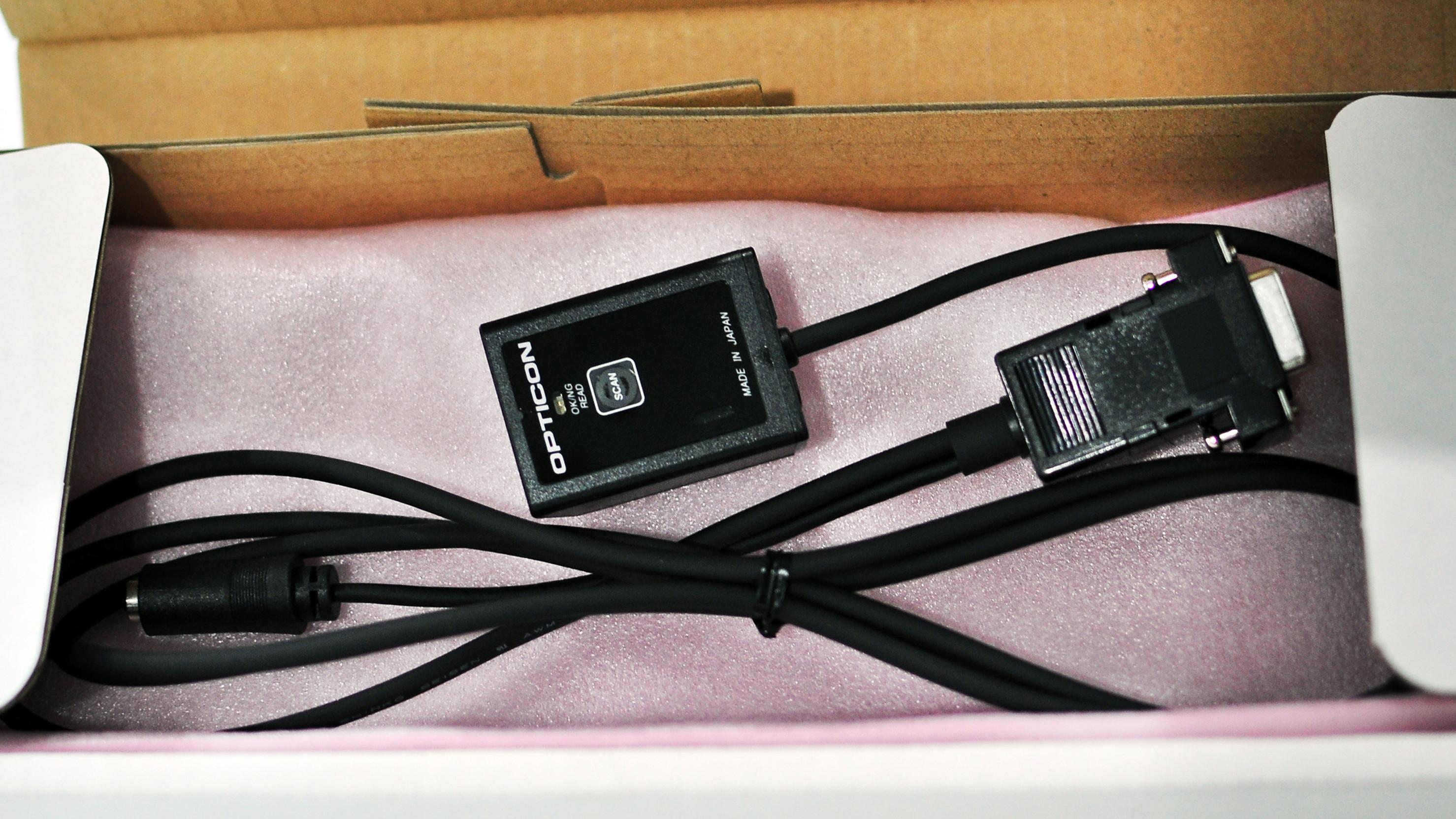 Máy quét mã vạch băng chuyền Opticon NLV-1001-USBHID (Hàng chính hãng)