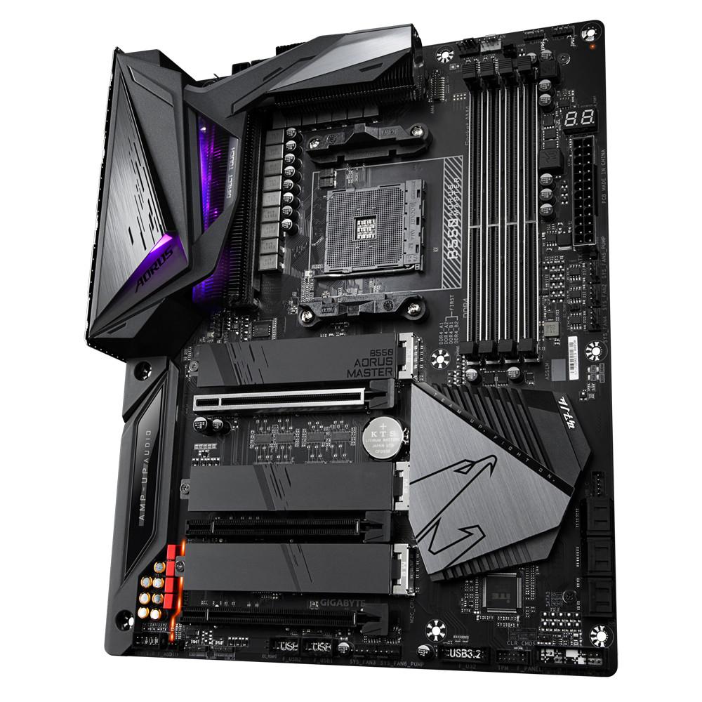 Bo mạch chủ Mainboard Gigabyte B550 AORUS MASTER AMD Socket AM4 - Hàng Chính Hãng