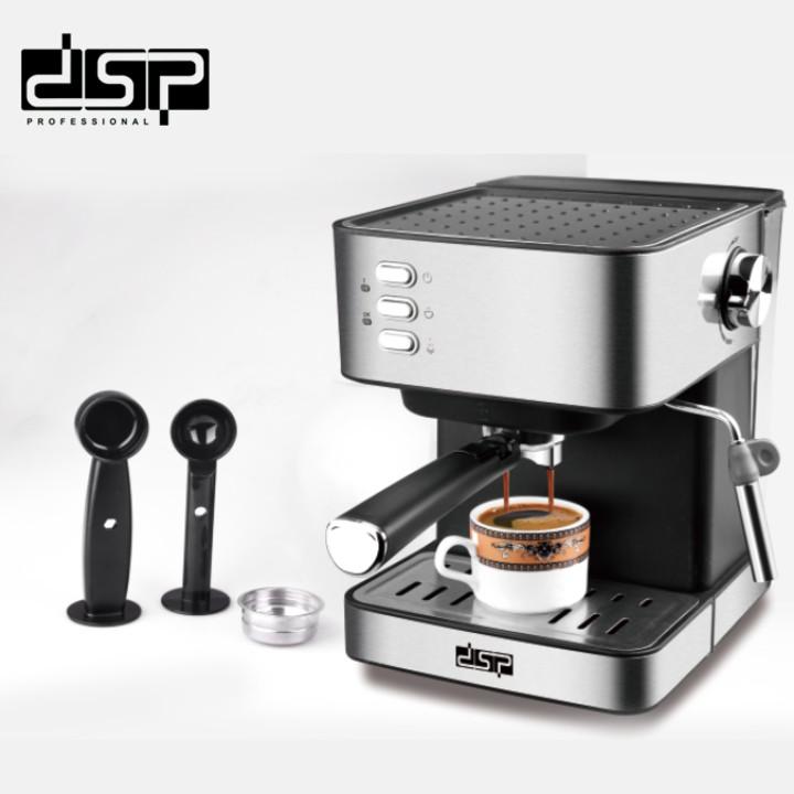 Máy pha cà phê đa năng DSP KA3028 công suất 850W, dung tích bình chứa nước 1,6 lít - Hàng Nhập Khẩu