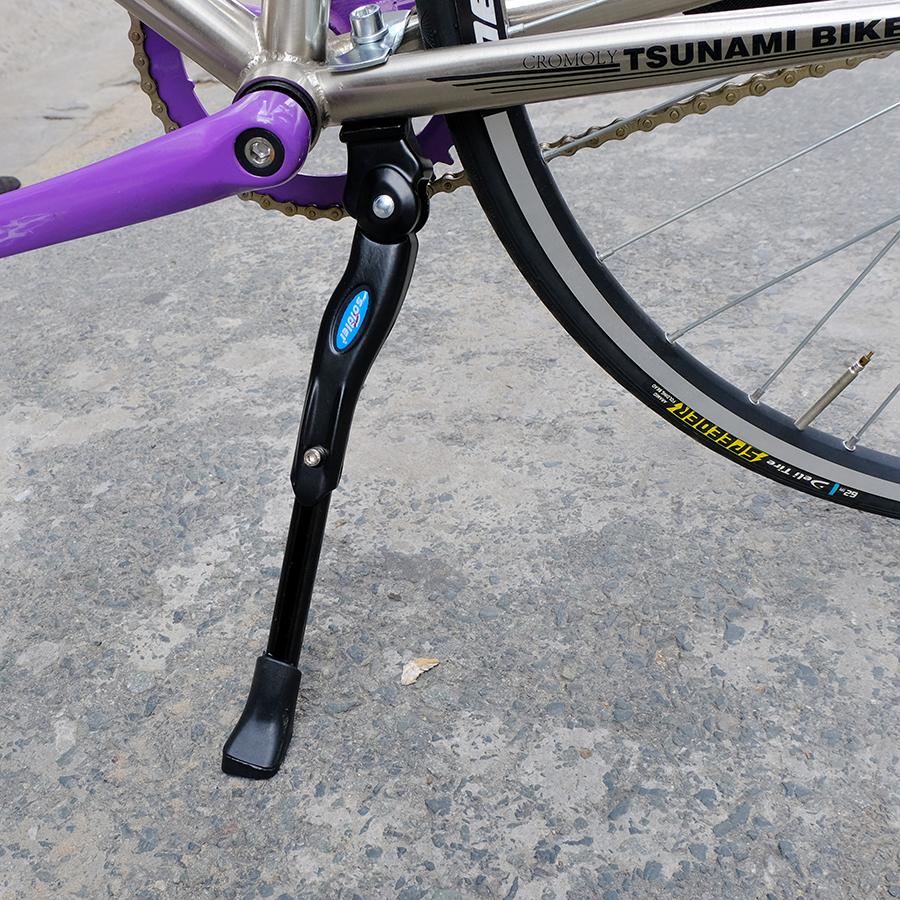 Chân chống giữa xe đạp bằng nhôm