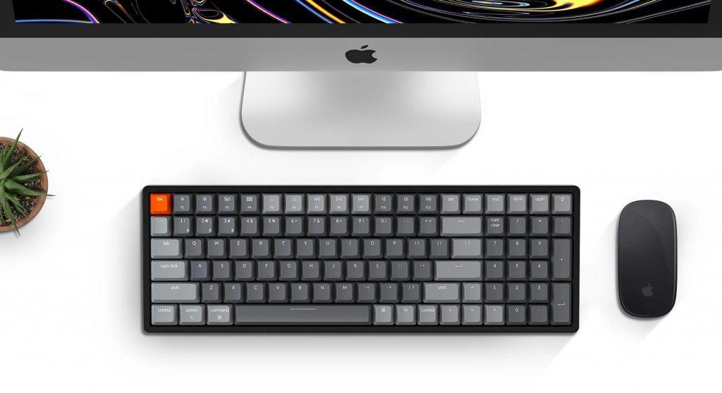 Bàn phím cơ Keychron K4 v2 Bản nhựa (Version 2 nâng cấp)