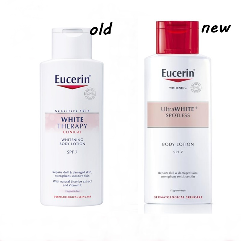Sữa Dưỡng Thể Làm Sáng Da Chống Lão Hóa Eucerin White Therapy Ultra White+ SPOTLESS Body Lotion SPF 7 (250ml)