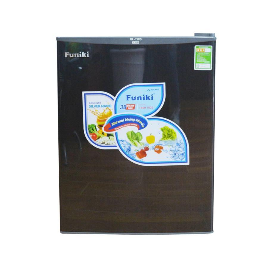 Tủ lạnh Funiki Hòa Phát FR 71CD 70 lít - Hàng Chính Hãng