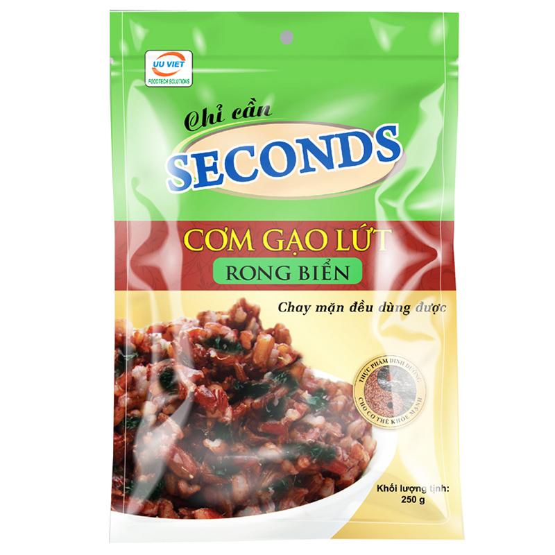 Cơm Gạo Lứt Rong Biển Seconds (250g) - 9308051193001,62_691091,31000,tiki.vn,Com-Gao-Lut-Rong-Bien-Seconds-250g-62_691091,Cơm Gạo Lứt Rong Biển Seconds (250g)