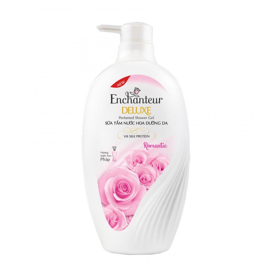 Sữa tắm nước hoa dưỡng da Enchanteur Romantic lãng mạn nhẹ nhàng mịn màng quyến rũ 650gr