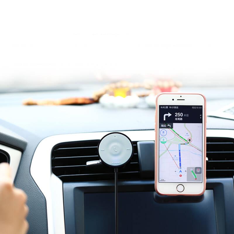 Bộ nhận Bluetooth âm thanh 4.1 không dây, kết nối điện thoại trên Ô tô có hỗ trợ Micro, giắc 3.5mm dài 3m UGREEN 30447 - Hàng chính hãng