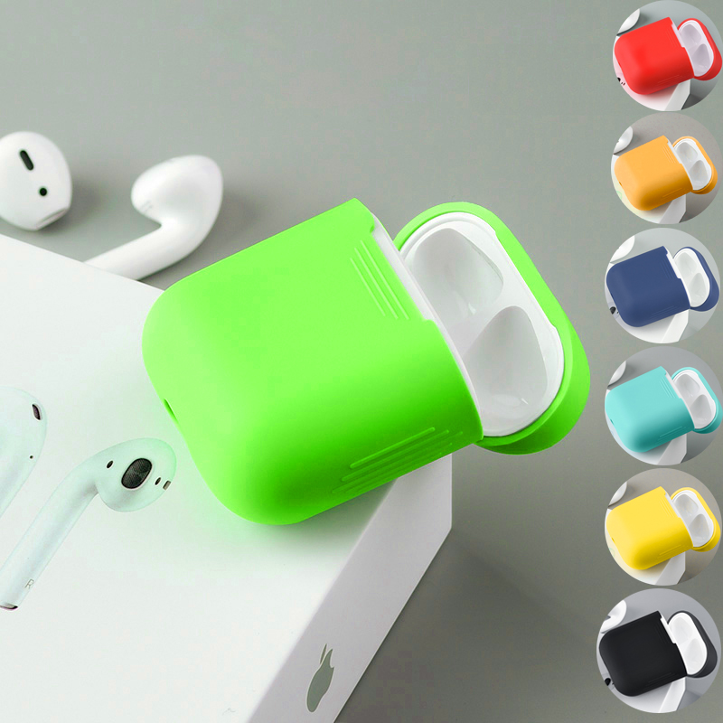 Hộp Bảo Vệ Silicone Cho Airpods (Không bao gồm airpod và màu khác)