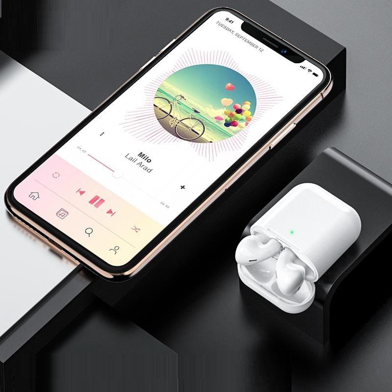 Tai nghe không dây Bluetooth 5.0 Hoco khoảng cách kết nối 10m tích hợp điều khiển cảm ứng - Hàng chính hãng