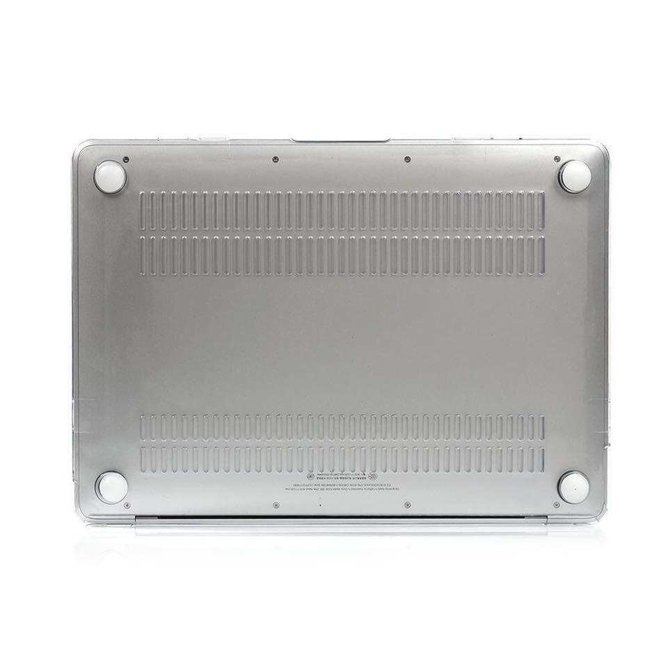"""Ốp Macbook , Case Macbook Pro M1 13"""" (2020 - 2021) trong suốt (Tặng kèm Nút chống bụi + bộ chống gãy dây sạc )"""