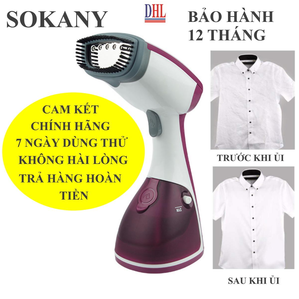 Bàn là bàn ủi hơi nước cầm tay SOKANY AJ-2205 công suất 1200W hàng chính hãng