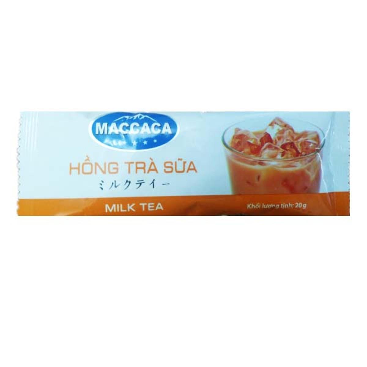 Kẹp Gắp Đồ Ăn Nóng Nhật Bản 22cm + Tặng Hồng Trà Sữa (Cafe) Maccaca 20g