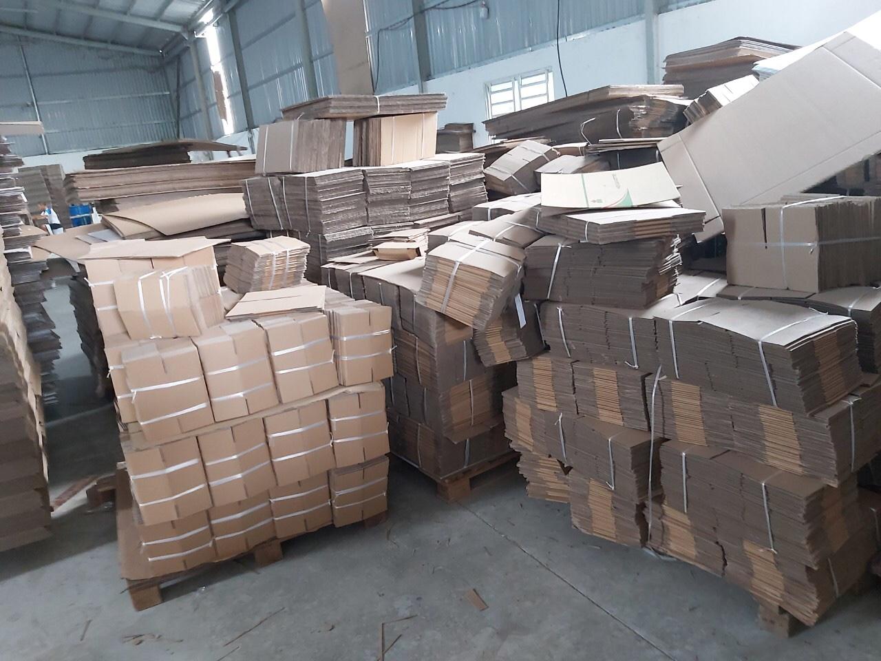 Thùng Carton size 15x12x5cm Bộ 100 Hộp carton