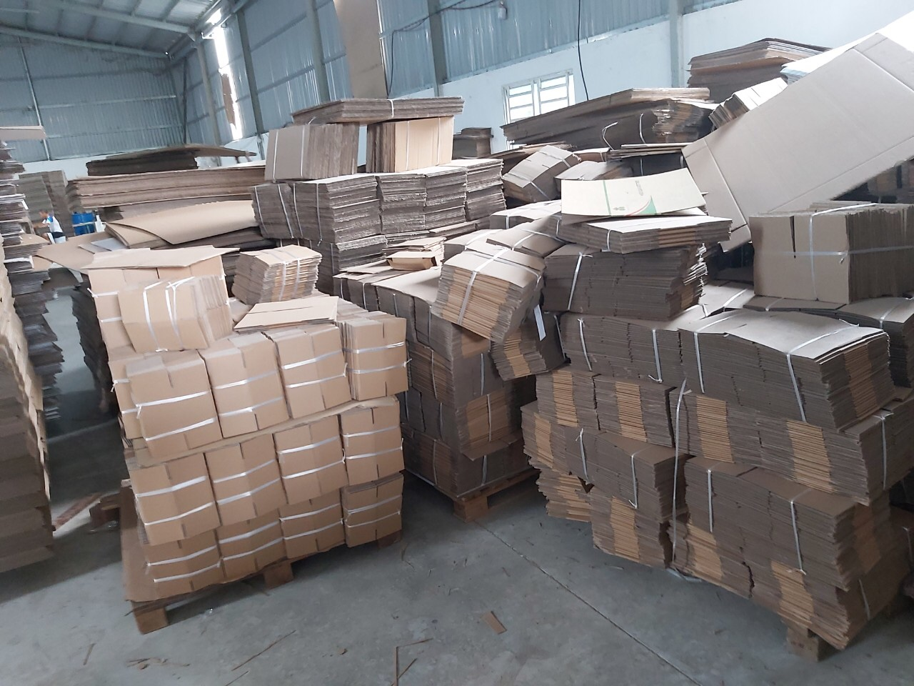Thùng Carton size 15x10x10cm Bộ 100 Hộp carton