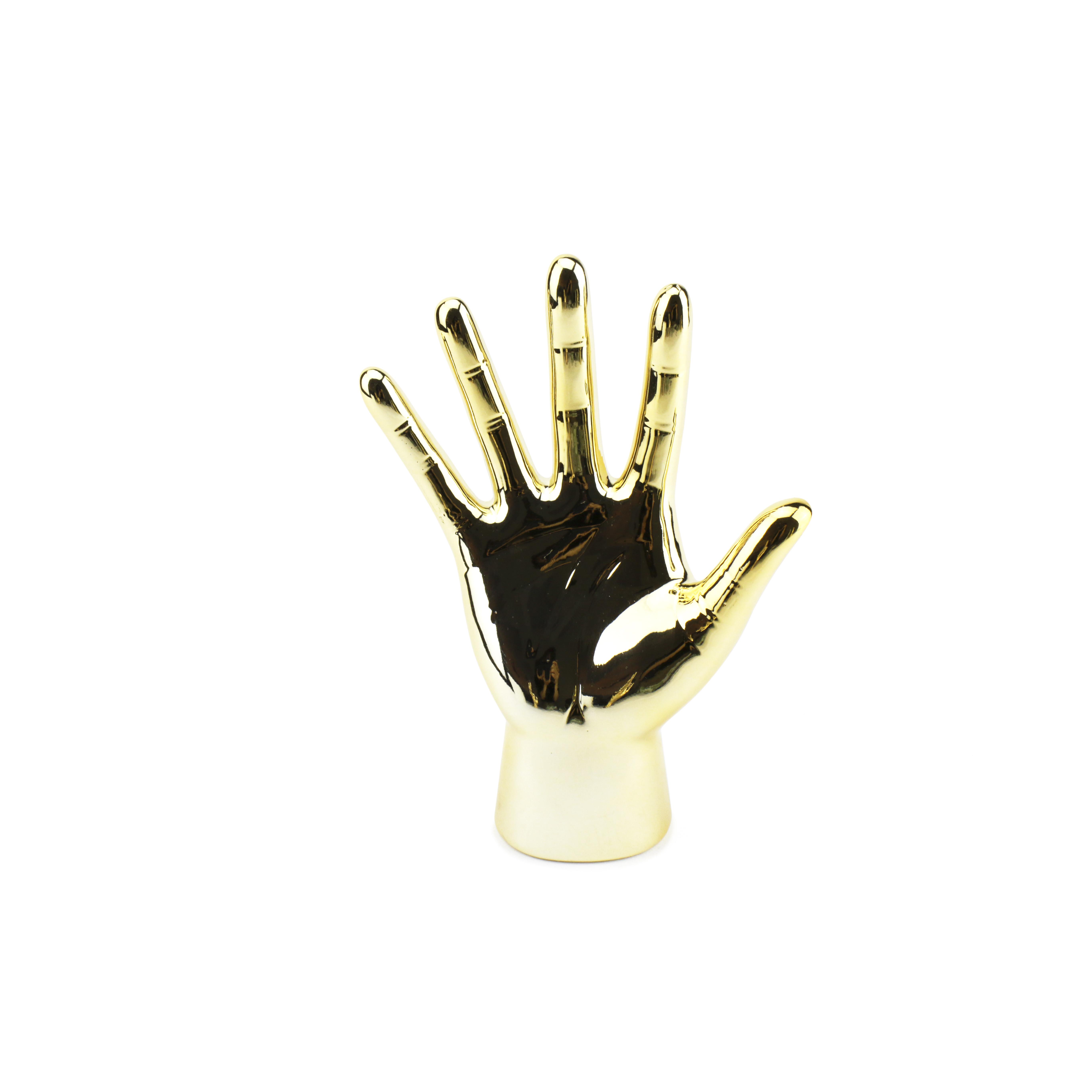 Bàn tay vàng decor sang trọng