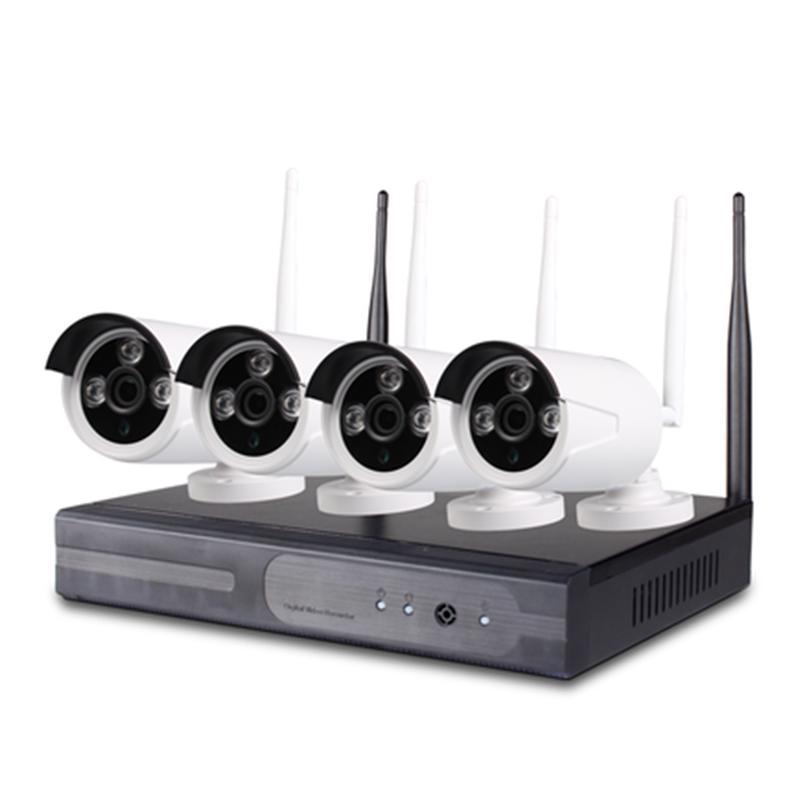 Bộ Camera IP Wifi Không Dây NVR Kit 4 Kênh 2.0MP