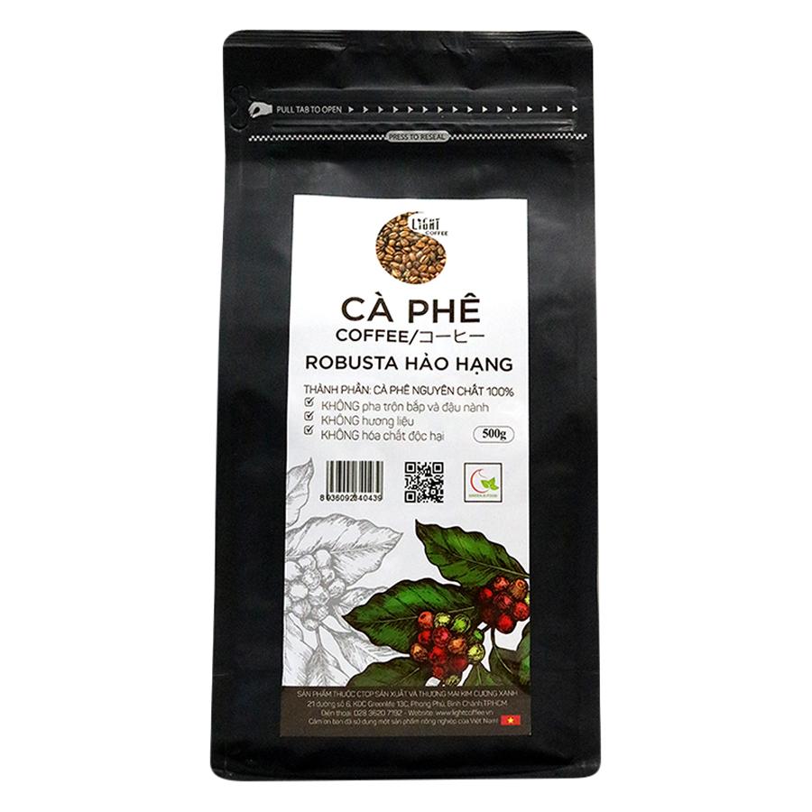 Cà Phê Hạt Nguyên Chất 100 Robusta Hảo Hạng Light Coffee RHH-500 500g - 23226720 , 8590966496785 , 62_1207085 , 371000 , Ca-Phe-Hat-Nguyen-Chat-100-Robusta-Hao-Hang-Light-Coffee-RHH-500-500g-62_1207085 , tiki.vn , Cà Phê Hạt Nguyên Chất 100 Robusta Hảo Hạng Light Coffee RHH-500 500g