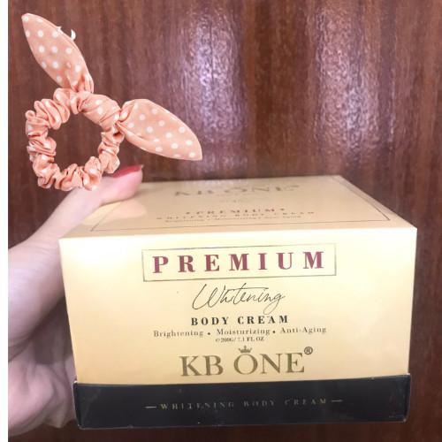 Kem Trắng Da Toàn Thân Ngày Và Đêm - Whitening Body Cream KBONE 200g - Tặng Kèm Cột Tóc Ngẫu Nhiên