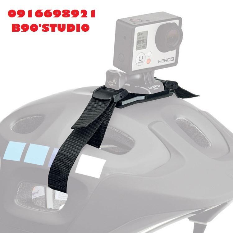 Dây đeo gắn trên mũ bảo hiểm cho camera hành động Gopro. Sjcam