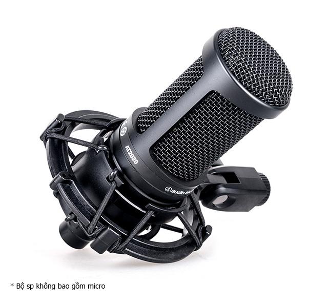 Shockmount Audio Technica SM2020 - Shockmount cho Micro Audio Technica AT2020, AT2035, AT2050 - Hàng Chính Hãng