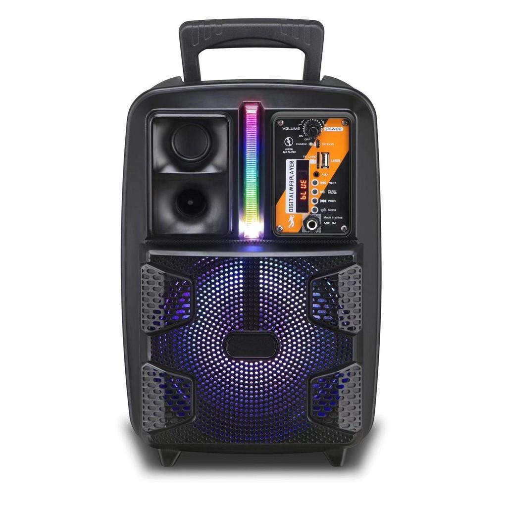 Loa Bluetooth Kimiso QS-2805 - Âm Thanh Sống Động kết hợp Đèn Led - hàng nhập khẩu
