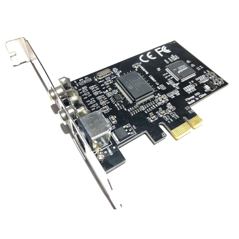 Card Chuyển Đổi PCI-E PCI Express To AV SVHS S-Video Cao Cấp AZONE