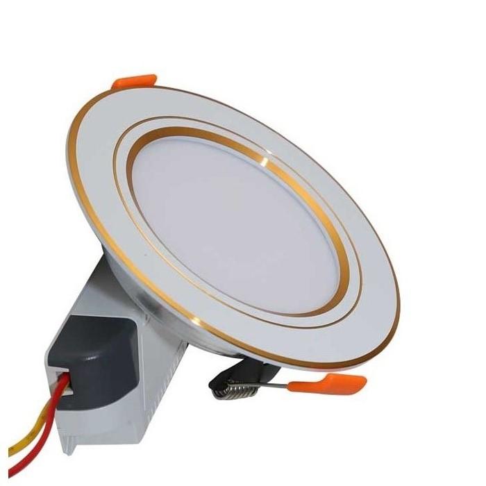 Đèn LED âm trần đổi 3 màu 7W Rạng Đông, khoét lỗ 90, vỏ nhôm đúc