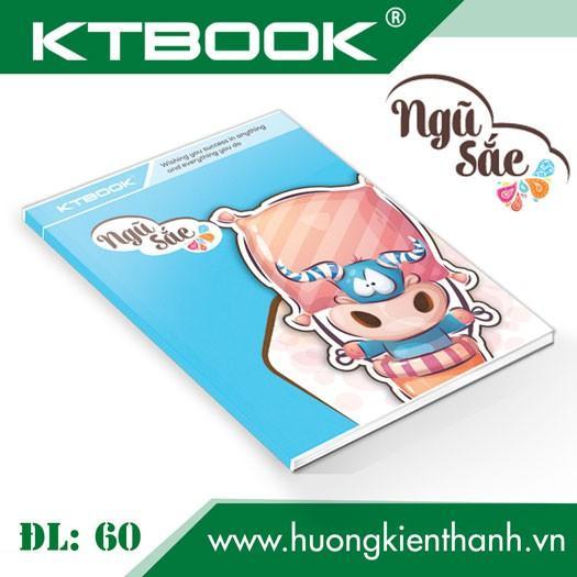 Gói 5 cuốn Tập Học Sinh Cao Cấp Giá Rẻ Ngũ Sắc giấy trắng ĐL 60 gsm - 200 trang
